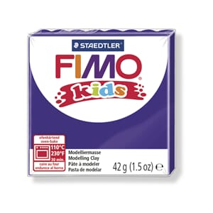 Fimo kids, purple, 42 g