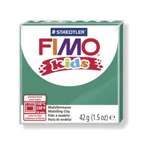 Fimo kids, green, 42 g