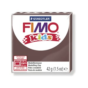 Fimo kids, brown, 42 g