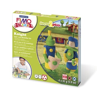 Fimo kids form&play Knight, 4 x 42g