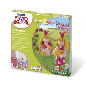 Fimo kids form&play Princess, 4 x 42g