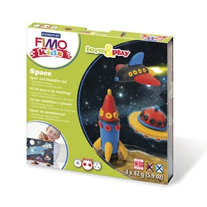 Fimo kids form&play Space, 4 x 42g