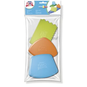 Fimo kids work&play cutting tools, 3/Pkg