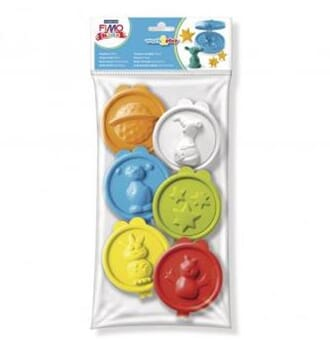 Fimo kids - Work & Play form, 6/Pkg