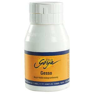 SOLO GOYA Painting Medium Gesso, 500 ml