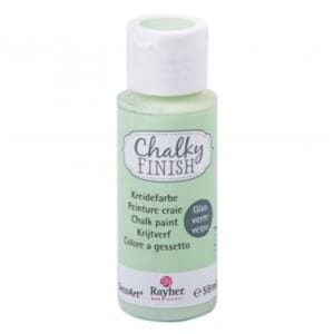 Chalky Finish for Glass - jade