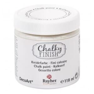 Chalky Finish - white