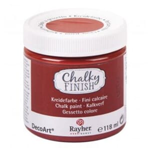 Chalky Finish - rust