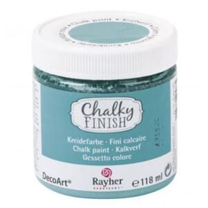 Chalky Finish - indian turquoise