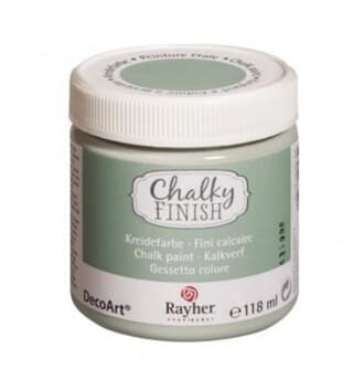 Chalky Finish - mint green