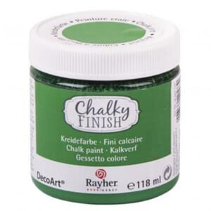 Chalky Finish - evergreen