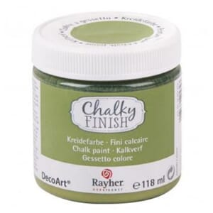 Chalky Finish - avacado