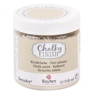 Chalky Finish - beige