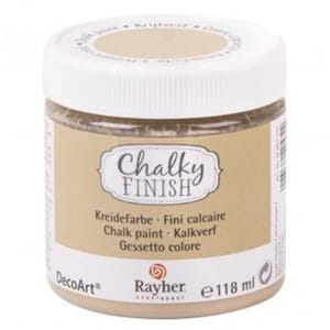 Chalky Finish - taupe brown