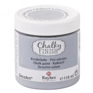 Chalky Finish - rock grey