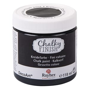 Chalky Finish - ebony