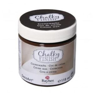 Chalky Finish Cremewax - dark brown