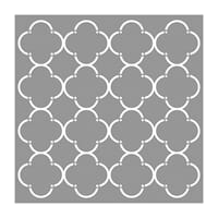 Stencil - Honeycomb Stylish, 1/Pkg
