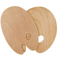 SOLO GOYA Wooden palette oval, 5mm thick