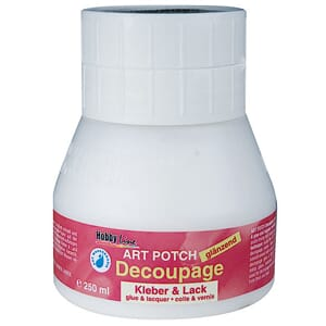 Art Potch Decoupage Glue, Glossy 250 ml