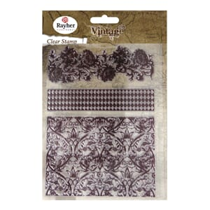 Vintage: Backgrounds - Clear Stamps