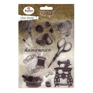 Vintage: Handmade - Clear Stamps