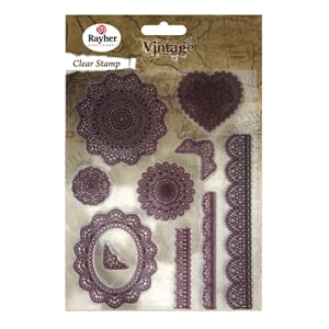 Vintage: Lace - Clear Stamps
