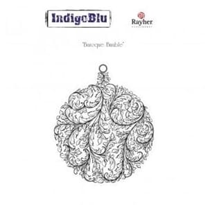 IndigoBlu - Baroque Bauble, 110x90mm