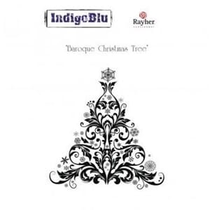 IndigoBlu - Baroque Christmas Tree, 110x100mm