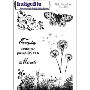 IndigoBlu: Wild Meadow, str 200x140mm, 5/Pkg