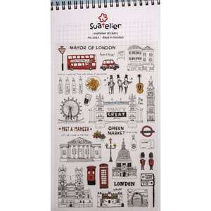Stickers - Days in London, 32/Pkg