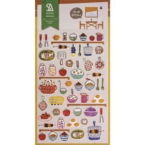 Stickers - Kitchen, 47/Pkg