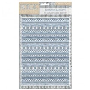 Crafter's Companion: Nordic Christmas A4 Folder, 1/Pkg