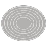 Rayher: Double Stiched Ovals dies, 13.8x11.3cm, 6/Pkg