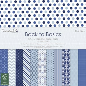 Dovecraft: Blue Skies, 12x12, 36/Pkg