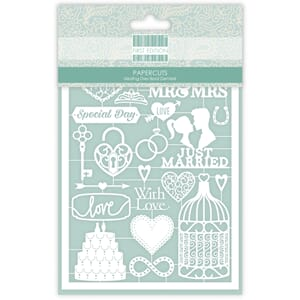 First Edition - Wedding Paper Cuts, 22/Pkg