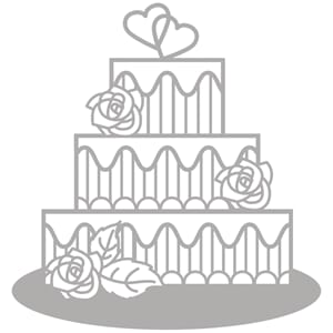 Rayher: Tiered Cake - Dies