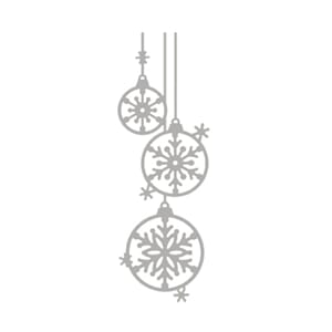Rayher: Baubles with Snowflakes - Dies