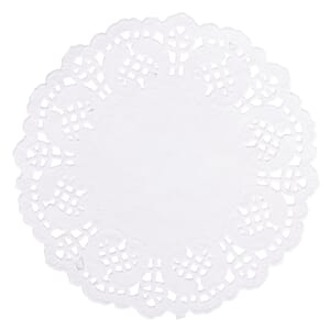 Homemade Goodies: Doilies, white, dia 14 cm