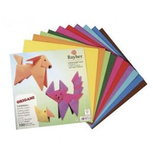 Rayher: Origami folding papers, 15x15 cm, 80g/m2