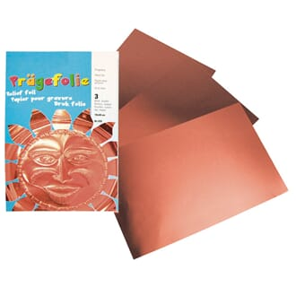 Metal sheets - copper, 3 sheets