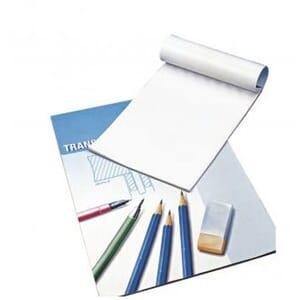 Tracing paper, 80 g/m2,  str A3, 25 ark