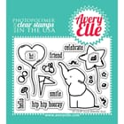 Avery Elle: Ellie - Clear Stamp Set
