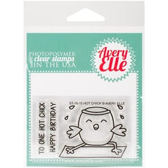 Avery Elle: Hot Chick - Clear Stamp Set