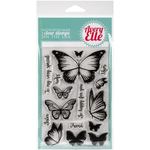 Avery Elle: Butterflies - Clear Stamp Set