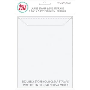Avery Elle - Large Stamp & Die Storage Pockets 50/Pkg