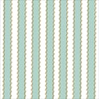 Anna Griffin: Light Blue Stripe - Rose Foil Cardstock