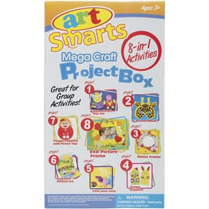 Clayzees: 8-In-1 Mega Craft Project Box