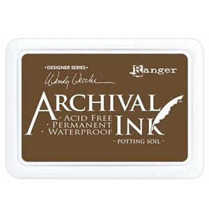 Ranger: Archival Inkpad - Potting Soil