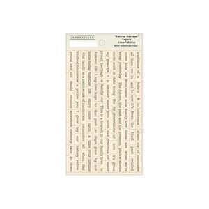 Authentique Paper: Petite Diction Mini Words - Legacy Stick